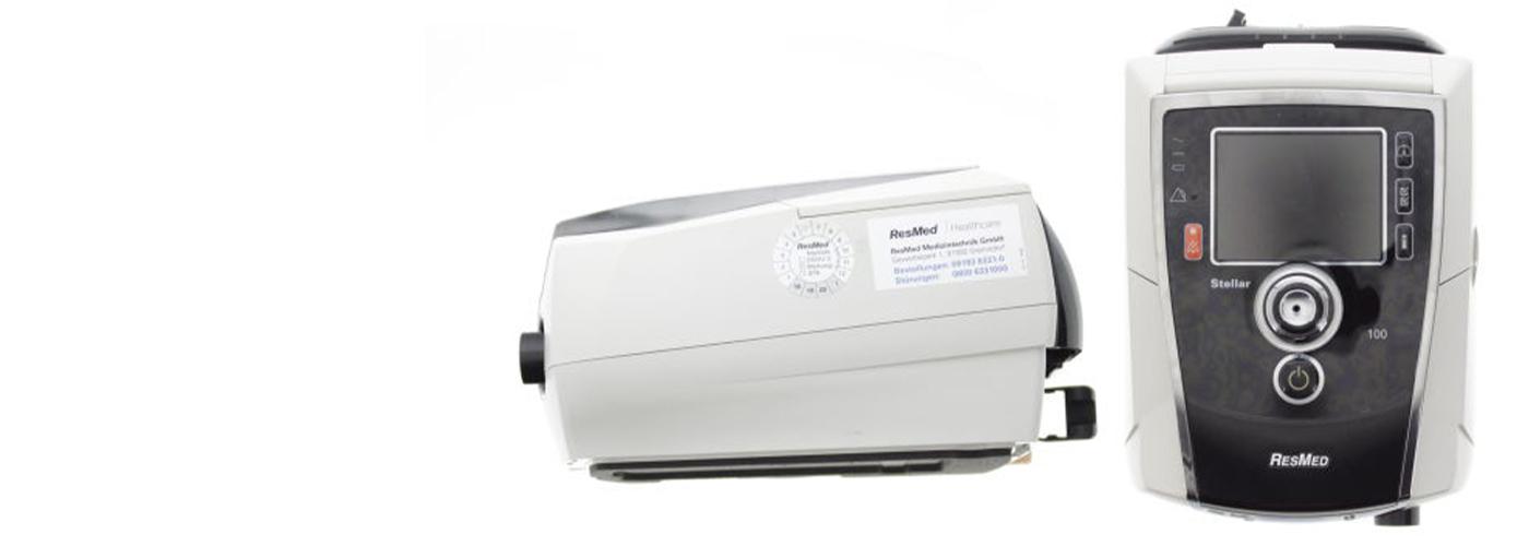 Hochwertige Beatmungsgeräte mit STK-Prüfung